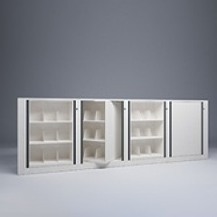 Rotary File-Letter-1 Starter-3 Adder-3 Tier-Shelves-Render Small