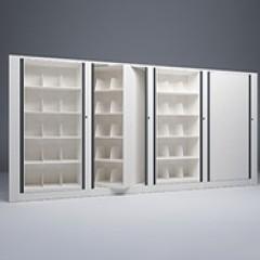 Rotary File-Letter-1 Starter-3 Adder-5 Tier-Shelves-Render Small
