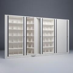 Rotary File-Letter-1 Starter-3 Adder-6 Tier-Shelves-Render Small