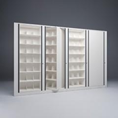 Rotary File-Letter-1 Starter-3 Adder-7 Tier-Shelves-Render Small