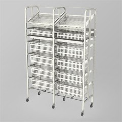 Medical Supply Storage-2 Column-7 High (Wide)