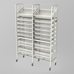 Medical Supply Storage-2 Column-9 High (Wide)