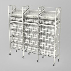 Medical Supply Storage-3 Column-7 High (Wide)