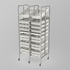 Medical Supply Storage-2 Column-8 High