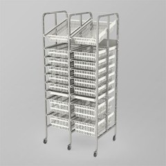 Medical Supply Storage-2 Column-9 High