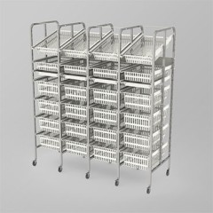 Medical Supply Storage-4 Column-7 High