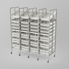 Medical Supply Storage-4 Column-8 High