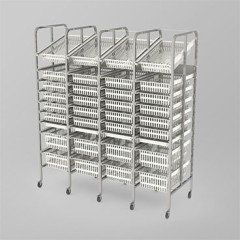 Medical Supply Storage-4 Column-9 High