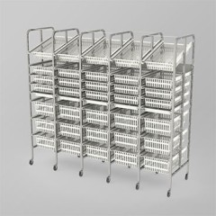 Medical Supply Storage-5 Column-8 High