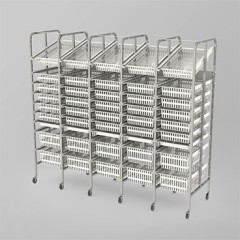 Medical Supply Storage-5 Column-9 High