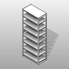 ssg-shelving-4 post-archive-box-powder-coated-steel-7-openings Small