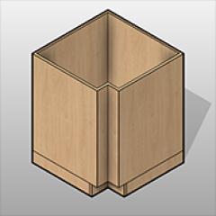 Base Cabinet - Corner - Laminate