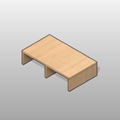 SSG Console Shelf Intermediate LAM Small
