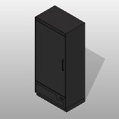 Stainless Steel Refrigerated Evidence Locker Small