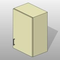 Versatile Steel Wall Cabinet Lab Doors Small