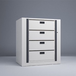 Rotary File-Legal-1 Starter 4 Tier-Drawers