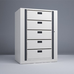 Rotary File-Legal-1 Starter 5 Tier-Drawers