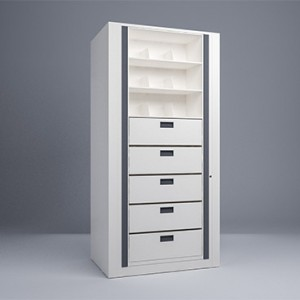 Rotary File-Legal-1 Starter 8 Tier-Drawers