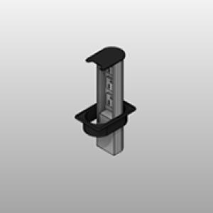 Retractable Power Strip Plastic Grommet Small
