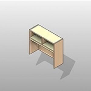 Overhead Storage Executive Laminate Casework