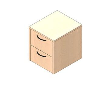 Base Cabinet - Suspended Pedestal - Laminate